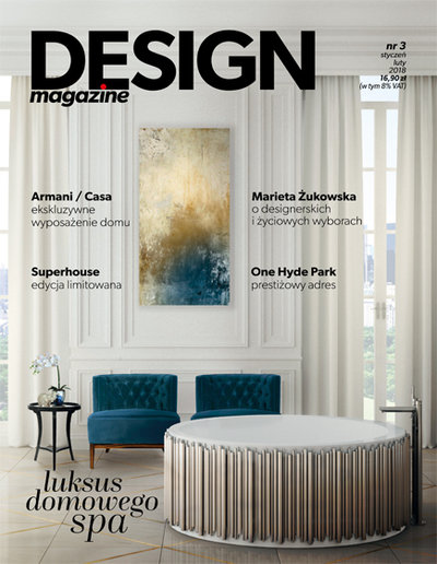 Small design magazine cover