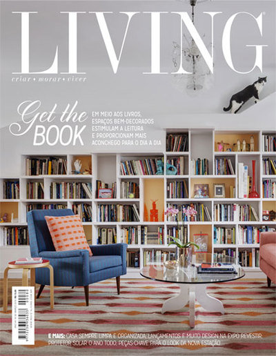 Small revista living cover
