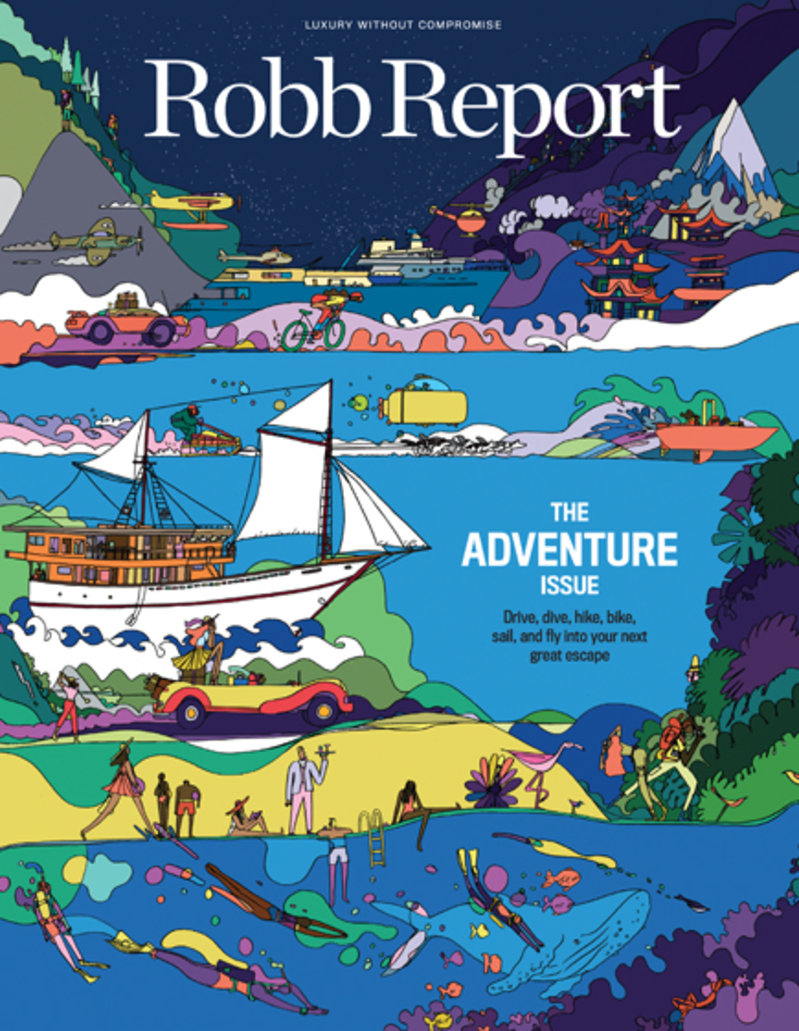 Standard robb report cover