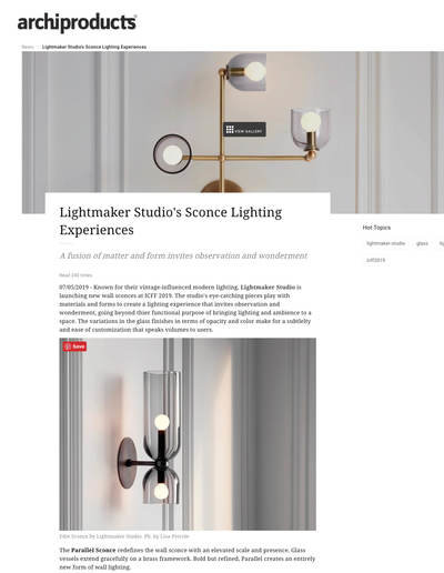 Small lightmaker archiproduct