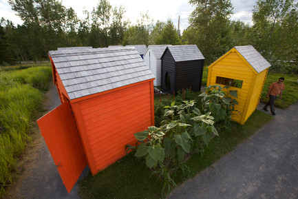 Dossier de presse | 837-01 - Communiqué de presse | Le Festival international de jardins 2011 - Festival international de jardins / Jardins de Métis - Architecture de paysage - Crédit photo : Every Garden needs a shed and a lawn