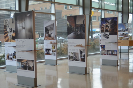 Dossier de presse | 774-08 - Communiqué de presse | Exposition « Parcours littéraire d'une architecture gagnante » à Québec - L'Ordre des architectes du Québec (OAQ) - Évènement + Exposition - Crédit photo : SCPGR