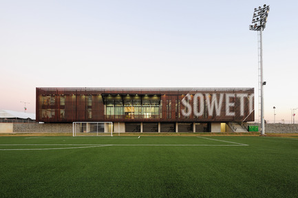 Press kit | 809-05 - Press release | Azure announces the finalists of the second annual AZ Awards - Azure Magazine - Competition - Firm:&nbsp;RUFproject<br>Project:&nbsp;Football Training Centre Soweto