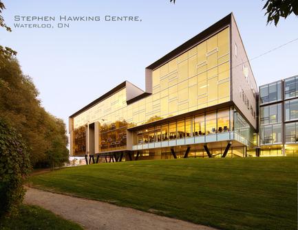 Dossier de presse | 809-05 - Communiqué de presse | Azure announces the finalists of the second annual AZ Awards - Azure Magazine - Concours - Firm:&nbsp;Teeple Architects<br>Project:&nbsp;Stephen Hawking Centre