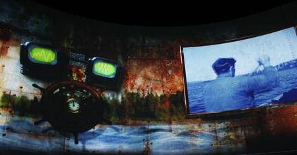 Press kit | 831-01 - Press release | XYZ technologie culturelle has produced   AQUAVOLT | a 360° WaterAdventure - XYZ Technologie culturelle - Multimedia Design - Photo credit: Idees au cube Id3
