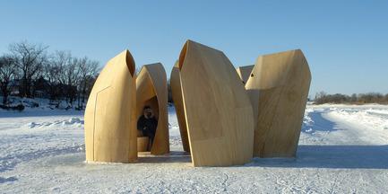 Dossier de presse | 809-05 - Communiqué de presse | Azure announces the finalists of the second annual AZ Awards - Azure Magazine - Concours - Firm:&nbsp;Patkau Architects<br>Project:&nbsp;Winnipeg Skating Shelters