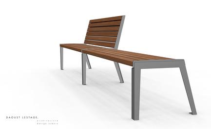 Press kit | 821-01 - Press release | Collection Esplanade - Equiparc - Product - 3D par Daoust Lestage inc. - Photo credit: Daoust Lestage