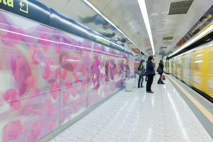 Press kit | 809-05 - Press release | Azure announces the finalists of the second annual AZ Awards - Azure Magazine - Competition - Firm:&nbsp;Karim Rashid<br>Project:&nbsp;Naples Universita Metro Station&nbsp;