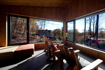 Press kit | 759-02 - Press release | La Source – massage therapy pavilion - Blouin Tardif Architecture-Environnement - Commercial Architecture - Photo credit: Steve Montpetit