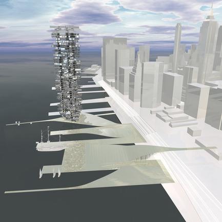Dossier de presse | 809-05 - Communiqué de presse | Azure announces the finalists of the second annual AZ Awards - Azure Magazine - Concours - Firm:&nbsp;Bluarch Architecture + Interiors + Lighting<br>Project:&nbsp;South Street Seaport Tower