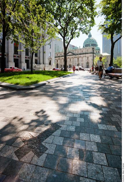 Press kit | 602-11 - Press release | Square Dorchester - Claude Cormier Architectes Paysagistes + Groupe IBI-CHBA (Lemay) - Landscape Architecture - Photo credit: Marc Cramer