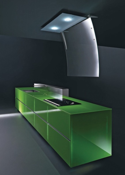 Dossier de presse | 809-02 - Communiqué de presse | 2011 AZ Awards winners - Azure Magazine - Concours - Category: DESIGN / FURNITURE SYSTEMS<br><br>Valcucine: Invitrum Recyclable Kitchen (Italy)*<br>Molo: Softwall + Softblock Modular System (Canada) - Crédit photo : Azure
