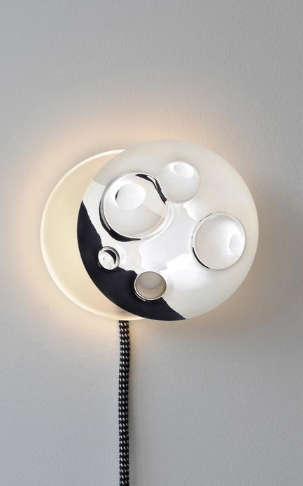 Dossier de presse | 809-05 - Communiqué de presse | Azure announces the finalists of the second annual AZ Awards - Azure Magazine - Concours - Firm:&nbsp;Guillaume Sasseville (ECAL Switzerland)<br>Project:&nbsp;Half Moon – Child Lamp&nbsp;
