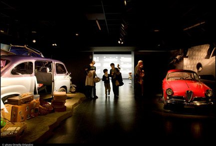 Press kit | 621-13 - Press release | Lightemotion illuminates The Museo Nazionale dell'Automobile di Torino - Lightemotion - Lighting Design - Photo credit: Ornella Orlandini