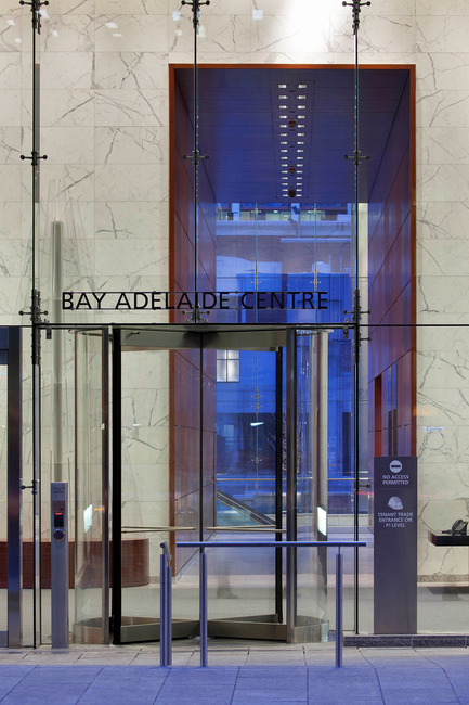 Press kit | 787-02 - Press release | Bay Adelaide Centre - WZMH Architects - Commercial Architecture - Photo credit: Tom Arban