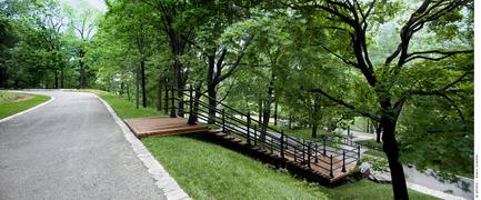 Press kit | 602-04 - Press release | Peel Entrance – Mount Royal Park - Lemay+CHA (Lemay) - Landscape Architecture - Photo credit: Marc Cramer