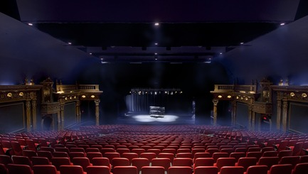 Press kit | 558-04 - Press release | Theatre Denise Pelletier - Saia Barbarese Topouzanov Architectes - Competition - Photo credit: Frederic Saia