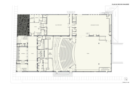 Press kit | 558-04 - Press release | Theatre Denise Pelletier - Saia Barbarese Topouzanov Architectes - Competition - Photo credit: SBTA