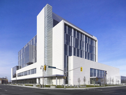 Press kit | 787-01 - Press release | Durham Consolidated Courthouse - WZMH Architects - Institutional Architecture - Photo credit: Shai Gil