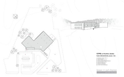 Dossier de presse | 647-04 - Communiqué de presse | Centre spécialisé de technologie physique du Québec - bisson | associés + Carl Charron Architecte - Architecture industrielle