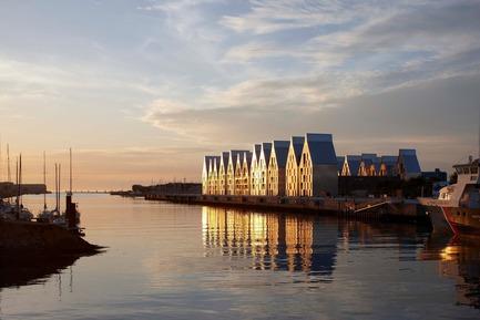 Press kit | 808-01 - Press release | Dwellings ZAC du Grand Large Neptune - Agence Nicolas Michelin & Associés – ANMA - Real Estate - Photo credit: Stephane Chalmeau
