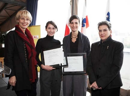 Press kit | 562-04 - Press release | Mouna Andraos et Melissa Mongiat, lauréates de la Bourse Phyllis-Lambert Design Montréal 2010 - Bureau du design - Ville de Montréal - Competition - Photo credit: Mathieu Rivard
