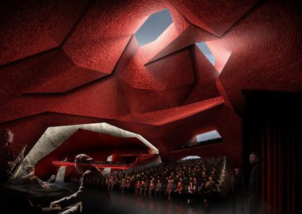 Press kit   806-01 - Press release   Concerts Hall Jordanek in Torun, Poland - Menis Arquitectos - Commercial Architecture - Photo credit: Menis Arquitectos