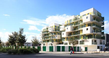 Press kit | 717-02 - Press release | 28 social housing units in Courbevoie - Koz architectes - Real Estate - Photo credit: Guillaume Grasset et Jean-Baptiste Pellerin