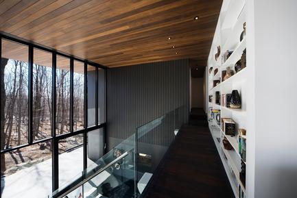 Dossier de presse | 759-01 - Communiqué de presse | Résidence du Mont-Saint-Hilaire - Blouin Tardif Architecture-Environnement - Architecture résidentielle - Crédit photo : Steve Montpetit
