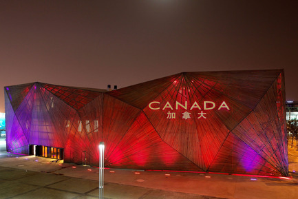 Press kit | 558-02 - Press release | Canadian Pavilion at the Shanghai world expo 2010 - Saia Barbarese Topouzanov architectes - Event + Exhibition - Photo credit: Patrick Alleyn