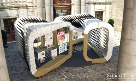 Dossier de presse | 982-15 - Communiqué de presse | Présentation des pavillons 2014 - Association Champ Libre - Festival des Architectures Vives (FAV) - Évènement + Exposition - Le pavillon du FAV à Montpellier