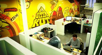 Dossier de presse | 760-01 - Communiqué de presse | Offices of the Upperkut agency - Jean de Lessard, Designers Créatifs - Commercial Architecture - Atelier - Crédit photo : Jean de Lessard