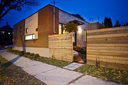 Dossier de presse | 1105-03 - Communiqué de presse | Un étage en ville - ou agrandir par l'intérieur - Anik Péloquin architecte - Architecture résidentielle - Crédit photo :         Daniel Kudish
