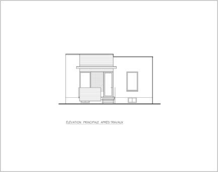 Press kit | 1105-03 - Press release | Un étage en ville - ou agrandir par l'intérieur - Anik Péloquin architecte - Architecture résidentielle - Photo credit:         Anik Peloquin