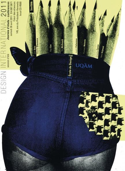 Dossier de presse | 748-15 - Communiqué de presse | Exposition « Alfred en liberté » au Centre de design de l'UQAM : les affiches d'Alfred Halasa - Centre de design de l'UQAM - Évènement + Exposition -         Design International, 2011 Alfred Halasa