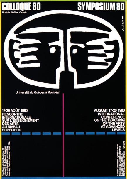 "Press kit | 748-15 - Press release | ""Alfred en liberté"": Alfred Halasa posters at the UQAM Centre de Design - Centre de design de l'UQAM - Event + Exhibition -         Colloque 80, 1980 Alfred Halasa"