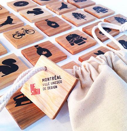 Press kit | 562-42 - Press release | Boutique CODE SOUVENIR MONTRÉAL : la créativité montréalaise à son meilleur! - Bureau du design - Ville de Montréal - Product - JULES MON POISSON BULLE&nbsp;<br>Designer : Isabelle Aubut&nbsp;<br>Nom du produit : Jeu « Montréal je me souviens »&nbsp; - Photo credit: JULES MON POISSON BULLE&nbsp;