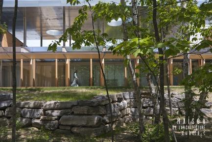 Press kit | 763-11 - Press release | Pierre Thibault à la Maison de l'Architecture du Québec (MAQ) - Maison de l'architecture du Québec - Event + Exhibition -         Abbaye cistercienne Val Notre-Dame - Photo credit:         Alain Laforest