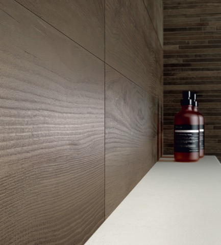 Press kit | 798-05 - Press release | Ramacieri Soligo presentsthe new collection Woodside - Ramacieri Soligo - Product -         WOODSIDE, mur Nut  20 x 120 cm