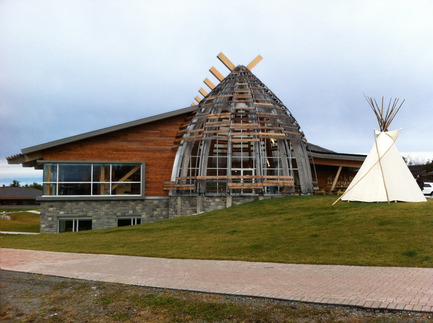Press kit | 1132-01 - Press release | Aanischaaukamikw Cree Cultural Institute - Rubin & Rotman Architects - Institutional Architecture - Photo credit: Aanischaaukamikw Cree Cultural Institute