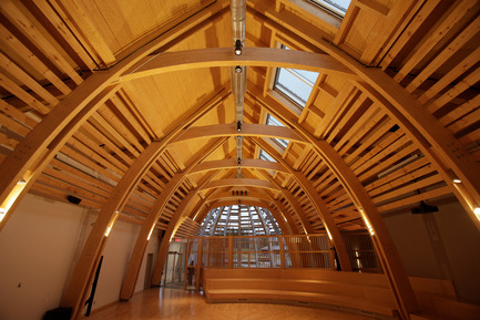 Press kit | 1132-01 - Press release | Aanischaaukamikw Cree Cultural Institute - Rubin & Rotman Architects - Institutional Architecture - Photo credit: Mitch Lenet