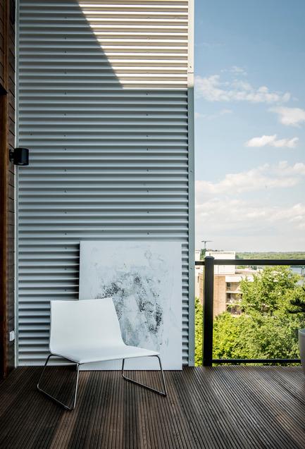 Press kit | 688-03 - Press release | Wood U - Jardin de Ville - Product - Photo credit:         Laurent Guérin / Studio Don Graetz