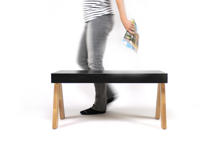Press kit | 1141-01 - Press release | Six Point Un will be launchingits new 2014 collection at SIDIM,Montreal International Design Show - Six Point Un - Product -         Le Banc T3