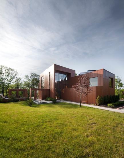 Dossier de presse | 759-06 - Communiqué de presse | Terre et Eau - Blouin Tardif Architecture-Environnement - Architecture résidentielle - Crédit photo :         Steve Montpetit
