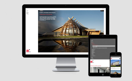 Press kit | 1132-02 - Press release | New website for Rubin & Rotman Architects - Rubin & Rotman Architects - Graphic Design - New website Rubin & Rotman Architects - Photo credit:         agence volume2