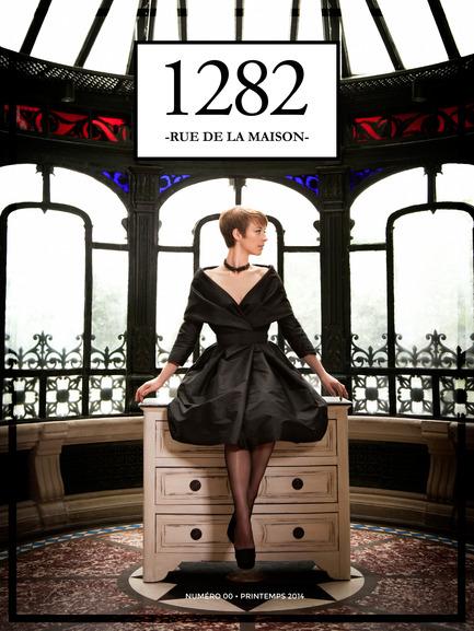 Press kit | 1147-01 - Press release | New Webzine launch1282 RUE DE LA MAISON - 1282 rue de la maison - Event + Exhibition