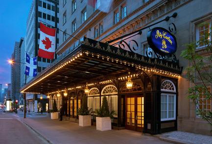 Press kit | 952-06 - Press release | Un habit de verre pour l'hôtel Ritz-Carlton - Provencher_Roy - Architecture résidentielle - Hôtel Ritz - Photo credit: Alexandre Parent