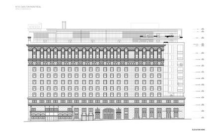 Press kit | 952-06 - Press release | Un habit de verre pour l'hôtel Ritz-Carlton - Provencher_Roy - Architecture résidentielle - Elevation - Photo credit: Provencher_Roy