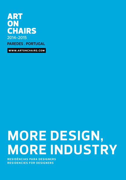 Press kit | 1130-01 - Press release | Call for creativity in Paredes, Portugal! Art on Chairs launches international competition and residency programme for designers! Apply now! - Art On Chairs - Competition