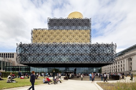 Press kit | 661-23 - Press release | World Architecture Festival Awards 2014 shortlist announced - World Architecture Festival (WAF) - Competition - Library of Birmingham - Mecanoo